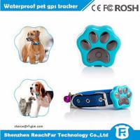 Buy cheap High quality mini waterproof dog gps tracker for cat with gps wifi lbs potioning from wholesalers