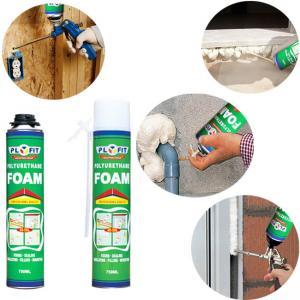 Buy cheap SGS 750ml Polyurethane Foam Spray House Insulation Expanding Spray product
