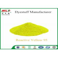Buy cheap Reactive Brill Yellow P-6GS Permanent Dye For Clothes C I Yellow 95 P-type product