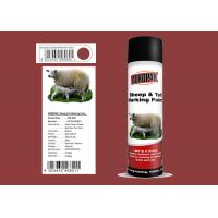 Buy cheap Xiali Red Color Marking Spray Paint Evaluate For Respiratory Distress product