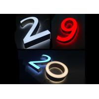 Buy cheap Customized Acrylic Channel Letter 3d Led Display Letter Sign from wholesalers