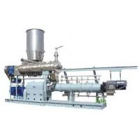 Buy cheap 1000kg/h twin screw extruder Jordan  floating fish feed machine price product