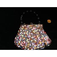 Buy cheap Paper button bag for fabric product