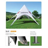 Buy cheap Outdoor Personalized Canopy Tents, Foldable Star Custom Printed Pop Up Tents product