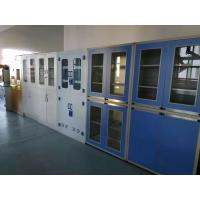 Buy cheap Chemical Laboratory Steel Cabinet With Glass Door Storage Cabinet Used For Hospital product