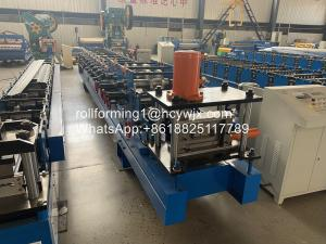 Buy cheap Automatic Galvanized C Purlin Roll Forming Machine 15 Rows product