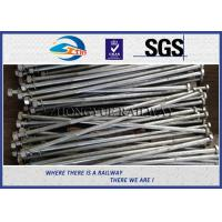 Buy cheap Railway HEX Bolt GB  Standard Hot Dip Zinc with 24x3x1100mm 45# material product