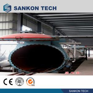 Buy cheap Working Pressure 1.6MPa Autoclave AAC Block Plant Machinery product