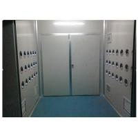 Anti-Static Class 10000 Cargo Air Shower Tunnel For Cosmetic Workshop , Sandwich
