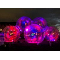 Buy cheap Commercial PVC Dazzle Alien Inflatable Balloon LED Lighting product