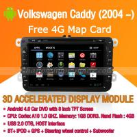 Buy cheap Android Car DVD Player GPS Navigation Wifi 3G for Volkswagen Caddy Bluetooth Touch Screen product