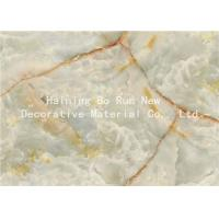 Buy cheap Fashionable Stone Contact Paper Film , Faux Marble Vinyl Film No Bubbles product