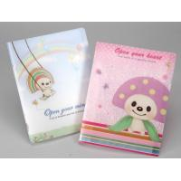 Buy cheap Customized Notepad Printing Type Plastic PET Paperback Diary Notebook with 3D Lenticular Cover product
