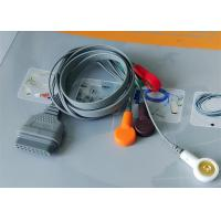 Buy cheap Snap Electrode Ecg Accessories Holter Cable 5 Leads For Patient Use from wholesalers