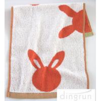 Buy cheap Cartoon Cute Children'S Hand Towels Easy Cleaning Cotton / Microfiber Material product