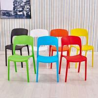 Buy cheap Solid Color Kids Plastic Chairs For Dining Room / Living Room / Bedroom product
