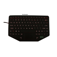 Buy cheap Robust ABS NVIS Backlight Ruggedized Vehicle Keyboard product