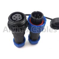 Buy cheap SD16 Male Female Plug Socket Connector SD16 TP-ZP 2 3 4 5 7 9 Pin Round Form Sealed product