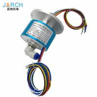 Buy cheap 6 Rings 5A Hybrid Slip Rings Connect Electrical Pneumatic Rotary Union SMC KSL10 from wholesalers