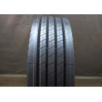 Rib Type Pattern 11R 22.5 Truck Tires Four Straight Grooves Tread Tear Resistance
