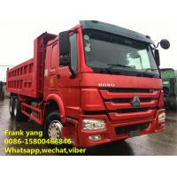 Buy cheap Howo 336 / Howo 371 Used Dump Trucks 2008 Year Low Fuel Consumption product