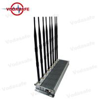Quality 8 Channel Design Cell Phone Signal Blocker Device 4 - 8 Watt Each Band for sale