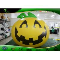 Buy cheap Outdoor Halloween Inflatable Yard Decorations Pumpkin Shaped Digital Printing product