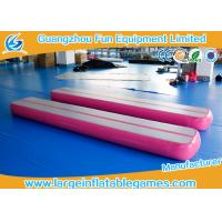 Buy cheap 0.9mm PVC Material Inflatable Air Tight Beam Mat Customized Color For Gymnastics from wholesalers