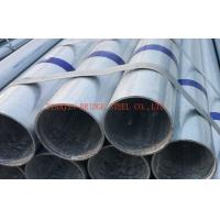 Buy cheap Galvanized Mild Steel Gi Pipe STK500 / STK400 , Round Steel Tube product