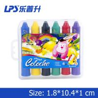 Multicolor Art Water Soluble Crayons With Rotational Structure Rainbow Crayons