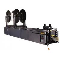 rotatable reel k type gutter forming machine, welded tubular