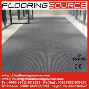 China High traffic aluminum entrance flooring entrance carpeting hotel lobby carpet on sale