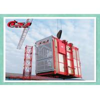 Buy cheap Adjustable Speed Rack And Pinion Lift System , Building Industrial Elevators And Lifts product