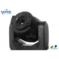 China Electronic Ballast Moving Head Lights / Spot Beam Light With Black Stylish Shell on sale