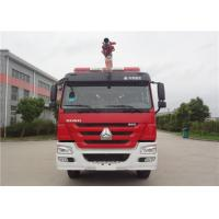 6x4 Drive Water Tower Fire Truck With Electronic Unit Pump Diesel Engine