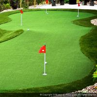 Buy cheap 15mm Artificial Grass Putting Green Suitable For House Hotel Place CE SGS Certified product