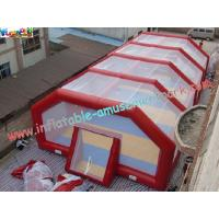 Buy cheap Custom Blow up Football field PVC tarpaulin Inflatable Sports Games for Commercial, Home product