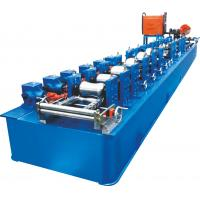 Buy cheap Trapped Round Steel Pipe Making Machine With Thicnkness 0.8~1.5mm product