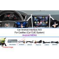 Buy cheap Reverse Camera Android Navigation Box Video Interface for Cadillac CUE System product