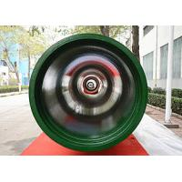 Buy cheap Black / Green Fusion Bond Epoxy Coated Pipe Class K7 K8 K9 100% Hydro Test product