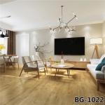 Buy cheap Wood Grain Self Stick Vinyl Flooring For Office Buildings , Pvc Vinyl Flooring product