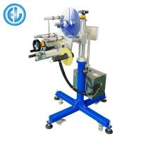 Electric Stainless Steel Print And Apply Label Applicators Matching Packaging Line