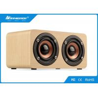 Buy cheap Super Mega Bass Vintage Wooden Wifi Speaker / Bluetooth Wooden Stereo Speakers from wholesalers
