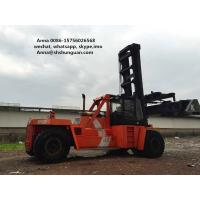 Buy cheap DCD450-12G Used Container Handler , Shipping Container Lift Truck product