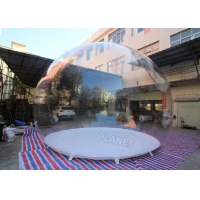 Buy cheap 5m Dia Single Bubble Inflatable Bubble Tent Without Tunnel product