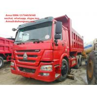 Buy cheap 25 30 40 Ton Used Howo Dump Truck More Than 8L Engine Capacity Diesel Fuel product