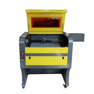 China 4060 Mini Laser Engraving Machine , Water Cooling Desktop Laser Engraver Ruida System on sale