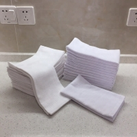 Buy cheap 100% Cotton 44g/Pc White Face Towels product