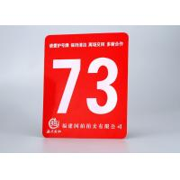 China ABS Rotary Engravable Plastic Sign Board Tamper Proof With Size 24X 48 on sale