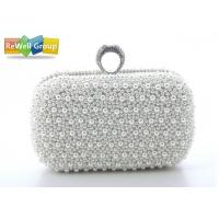 Buy cheap Ring Dinner wedding clutch purses / Ladies Leather Bags handbag product